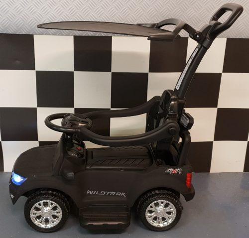 Mat zwarte 6 volt loopauto duwauto Ford Ranger