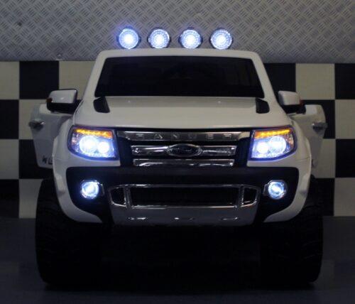 Witte Ford kinderjeep Ranger 2.4G Rc 12 volt
