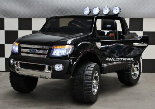 Kinder accu auto Ford Ranger XLS 12V 2.4G RC metallic zwart