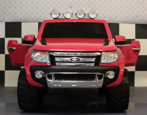 ford ranger roze kinderauto 12v met rc