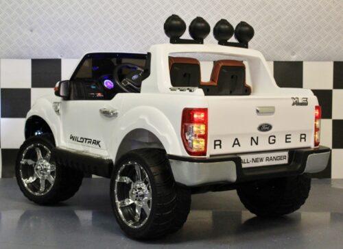 Ford XLS kinderjeep wit 12 volt accu 2.4G afstandsbediening