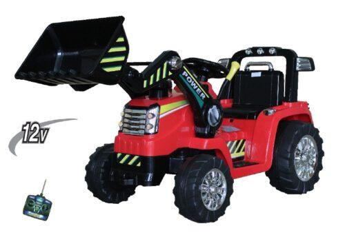 tractor met kiepbak