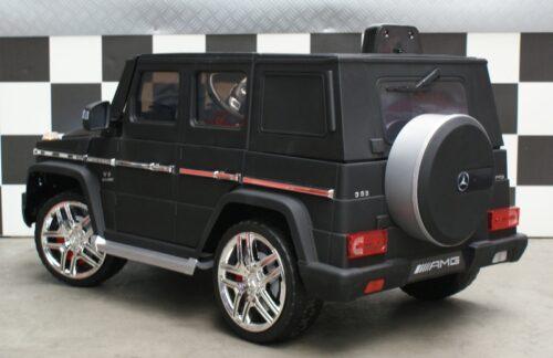 MB G63 mat zwart speelgoedauto 12 volt accu