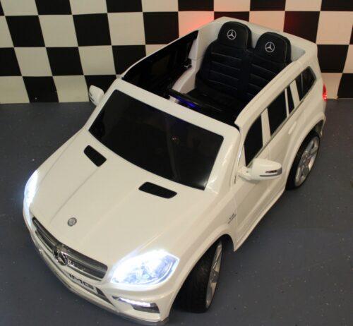 Speelgoedauto Mercedes GL63 AMG wit