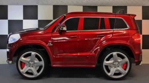 12 volt GL63 kinderauto rood 2.4G RC bediening