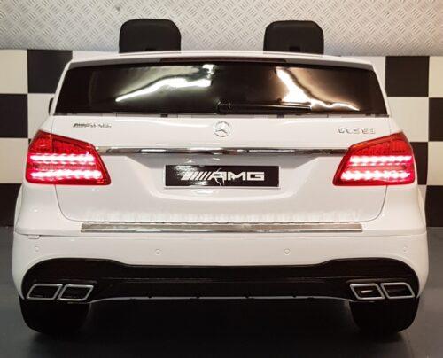 GLS63 AMG kinderauto wit 2x12v 2.4G rc bediening
