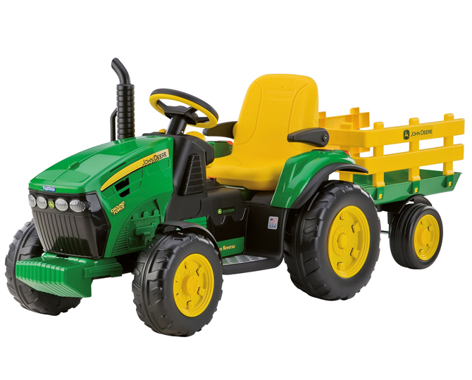 Elektrische tractor John Deere ground force Peg-perego