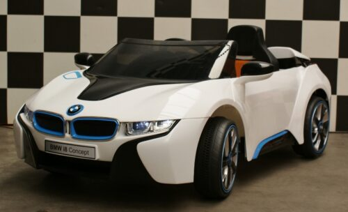 BMW i8 kinder accu auto 12v rc wit