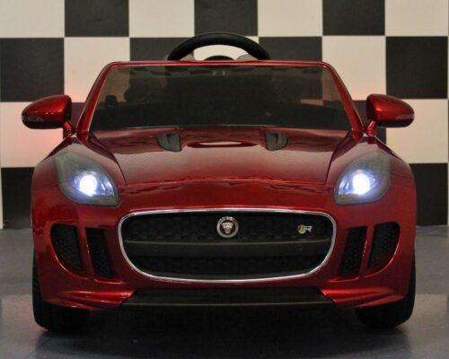 Elektrische Jaguar kinderauto 12V 2.4 afstandbediening rood