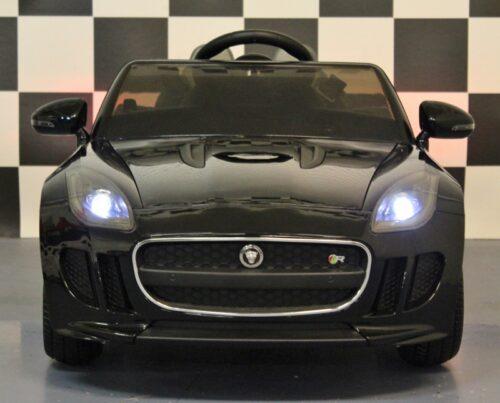 jaguar f type accu auto metallic zwart