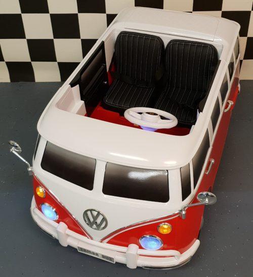 Samba kinderbus VW T1 rood