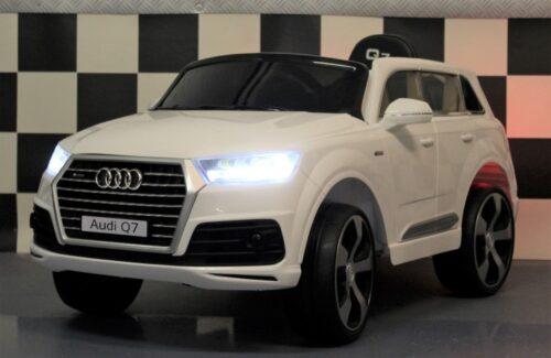 Kinderauto Audi Q7 wit 12V 2.4G RC