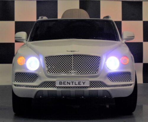 Kinderauto Bentley Bentayga 12 volt wit
