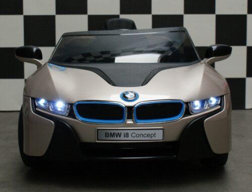 BMW i8 champagne 12 volt accu auto rc