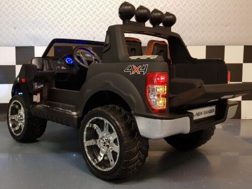 12 volt Ford kinderjeep 2.4G afstandbediening mat zwart