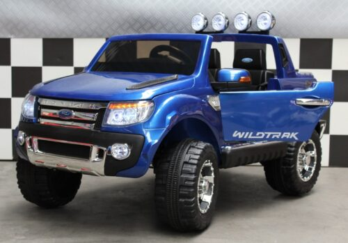 Ford Ranger XLS kinderauto metallic zwart 12v 2.4g rc