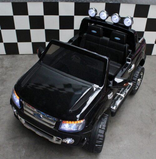 Elektrische Ford kinderauto Ranger 12V afstandbediening zwart