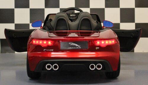 Kinderauto Jaguar 12V rood 2.4G RC