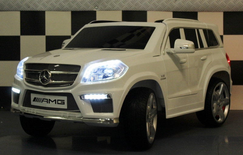Mercedes AMG GL63 speelgoedauto 2.4G RC 12V wit