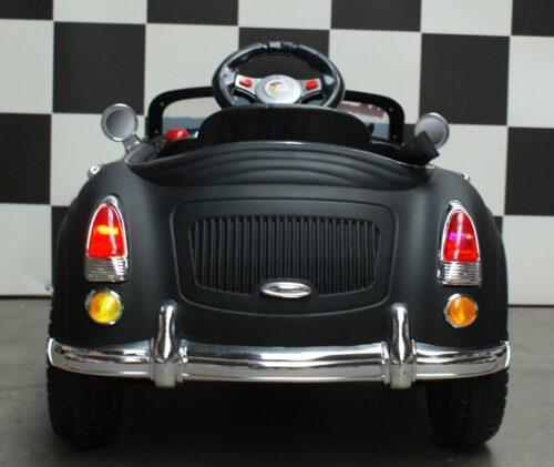 Speelgoed kinderauto mini Speedster zwart met rc