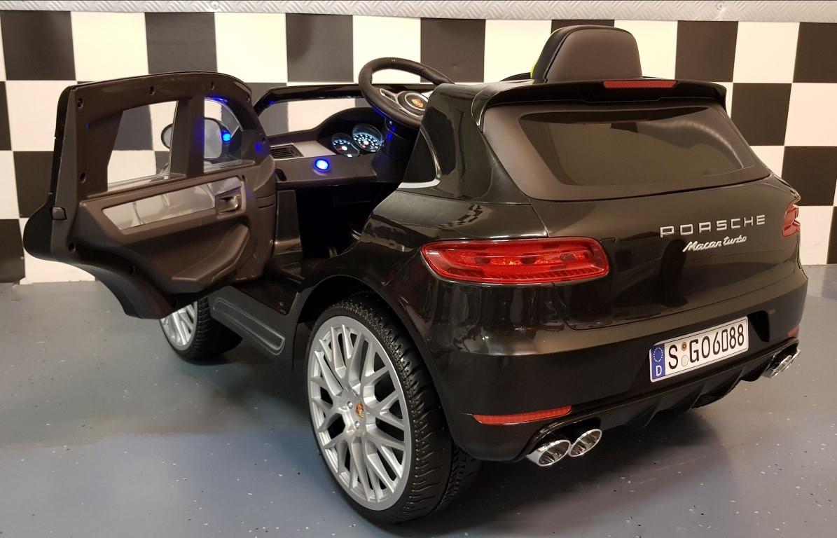 Porsche Macan Turbo Elektrische Kinderauto 2 4g Afstandbediening