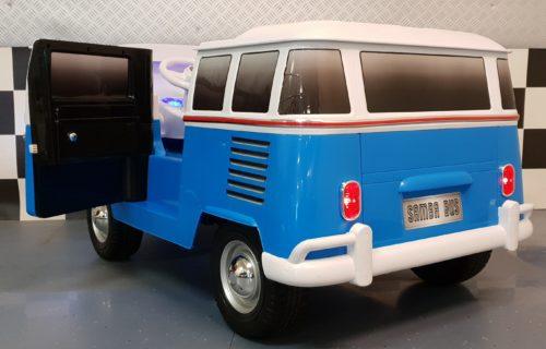 VW T1 kinderauto blauw 12 volt 2.4G RC