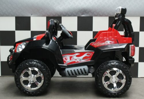 Triumph kinderjeep rc zwart
