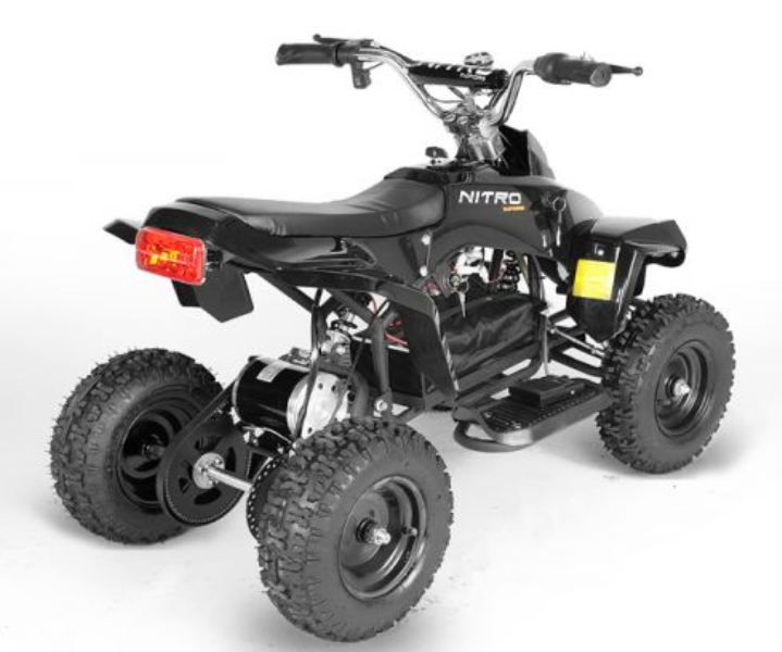 mini kinderquad anaconda nitro 36 volt accu quad met 800. Black Bedroom Furniture Sets. Home Design Ideas