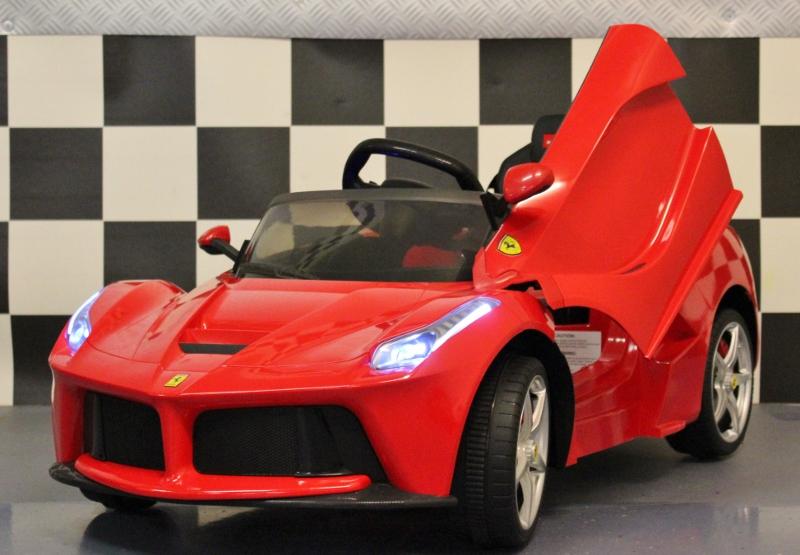 La- Ferrari kinder wagen 12 volt 2.4G RC rood