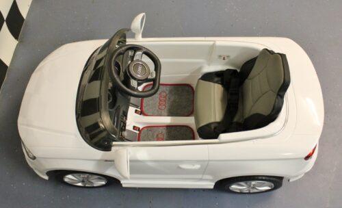 Leder zitting en matten kinderauto Audi A3