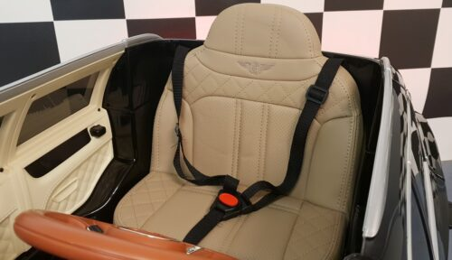 leder zitting Bentley kinderauto
