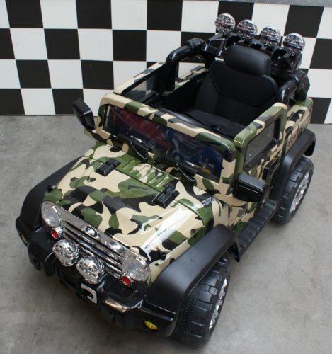 12 volt kinder accu jeep 2.4G bestuurbaar
