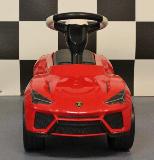 Rode Lamborghini loopwagen