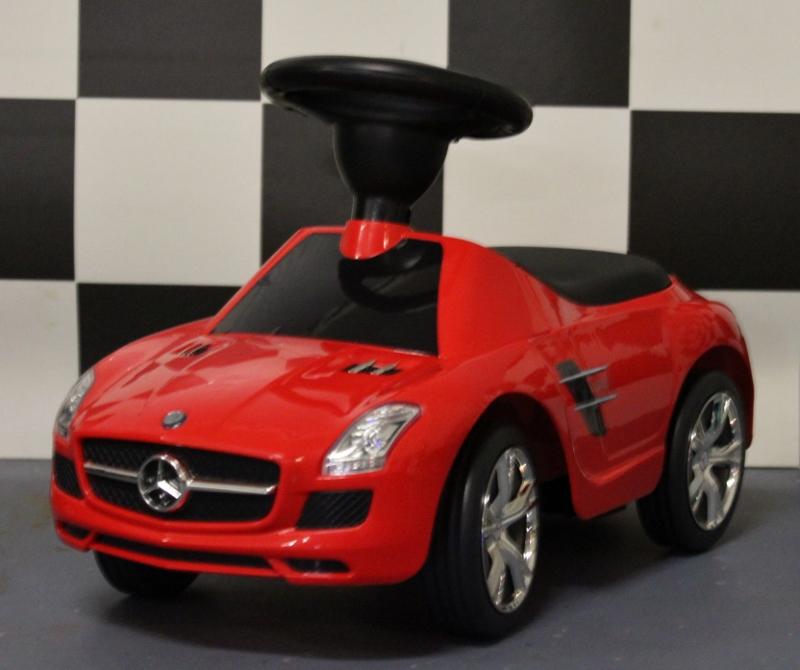 Loopauto Mercedes Benz SLS rood