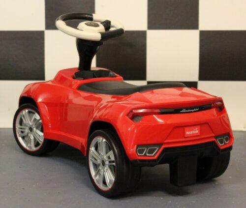 Loopwagen rood Lamborghini