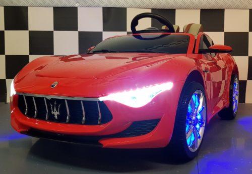 Maserati Alfieri elektrische kinderauto rood 12V 2.4G RC