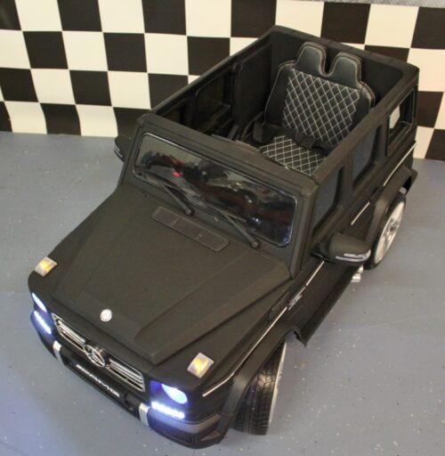 MB G65 speelgoedauto 12 volt accu 2.4G Rc bediening mat zwart