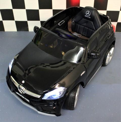 Speelgoedauto Mercedes A45 12 Volt zwart