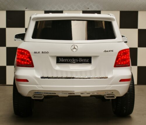 Mercedes kinderauto GLK300 wit