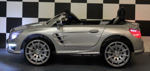 Elektrische Mercedes SL63 speelgoedauto zilver