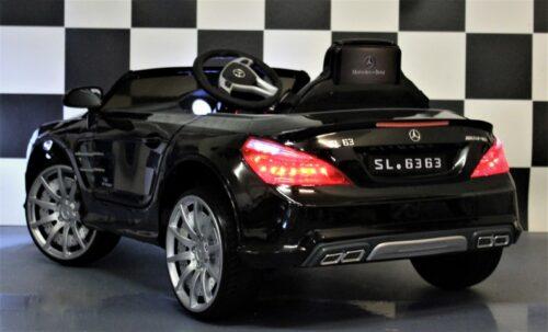 Mercedes Benz speelgoedauto SL63 metallic zwart