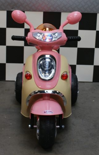Kinderscooter 6 volt roze Cute Baby