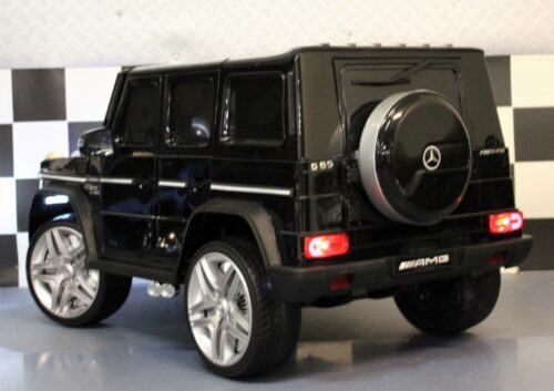 MB G65 kinderauto 2.4G afstandbediening 12 volt zwart