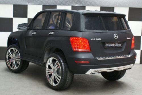 12 volt accu auto Mercedes GLK mat zwart rc