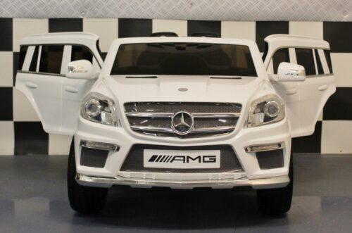 Elektrische Mercedes GL63 accu auto wit