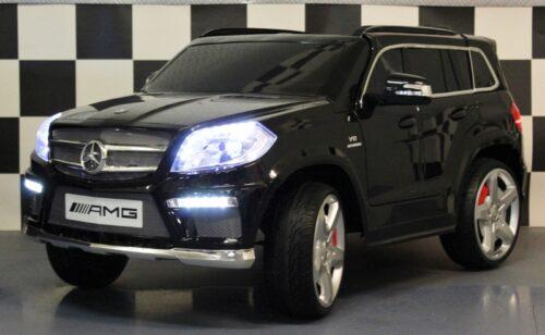 Mercedes GL63 metallic zwart 2.4G 12V