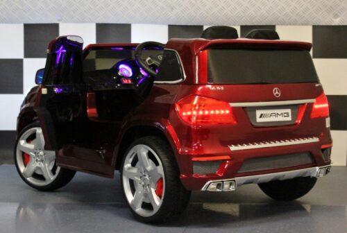 Mercedes GL63 elektrische kinderauto 2.4G 12V rood