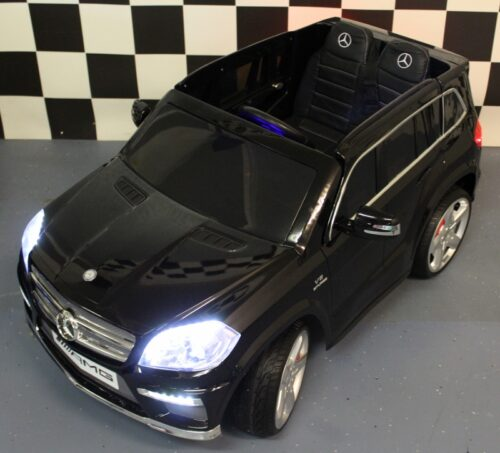 MB GL63 kinderauto zwart 2.4G afstandbediening 12 volt