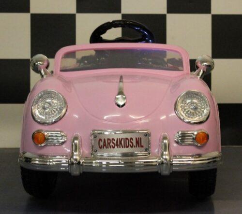 mini speedster elektrische roze kinderauto