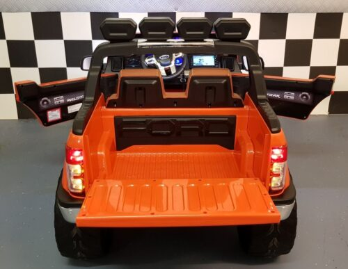 Accu auto Ford Ranger oranje 12V 2.4G RC